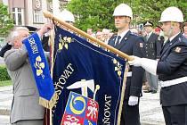 Oceňování hasičů 8. května 2011.
