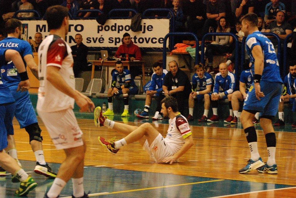 Extraliga házenkářů: HBC Ronal Jičín - TJ Tatran Litovel.