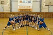 Jičínský dívčí basketbal.