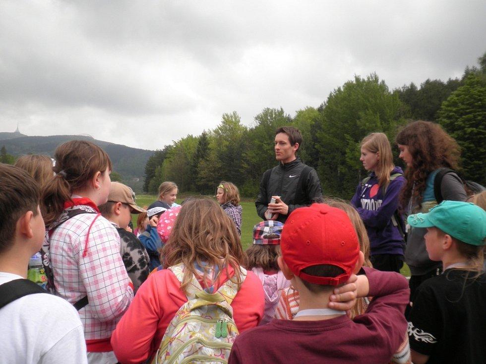 Železničtí žáci ve škole v přírodě.