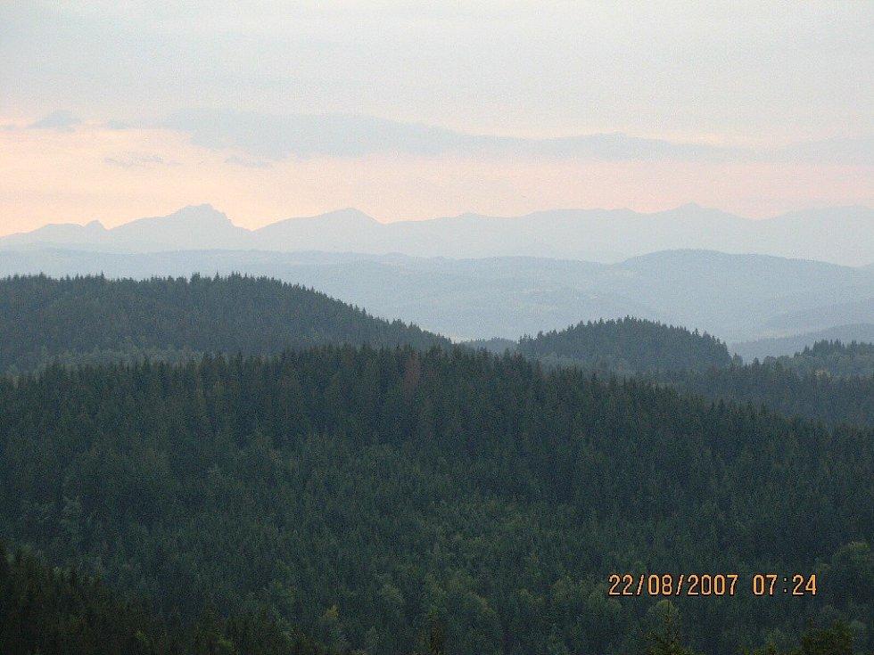 Výhledy na Malou Fatru, z trasy Doroťanka - Bumbálka.