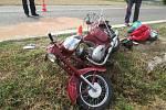 Nehoda si vyžádala jedno lehké zranění.