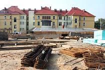 Stavba laboratoří v královédvorské nemocnici