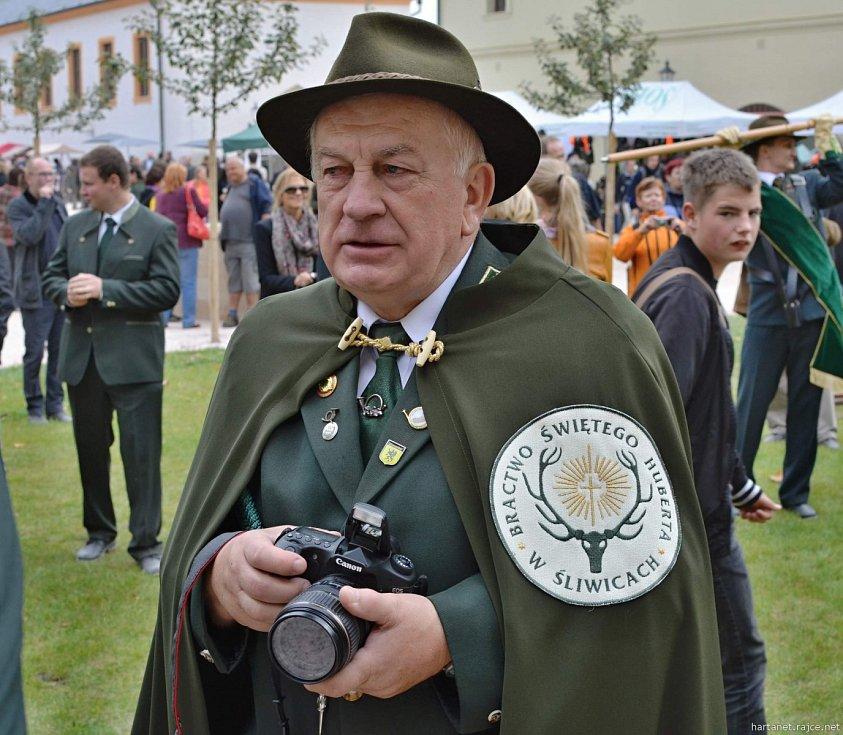 Svatohubertské slavnosti na Kuksu.