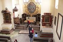 Ze dne otevřených dveří v kostele v Jičíně - Sedličkách.