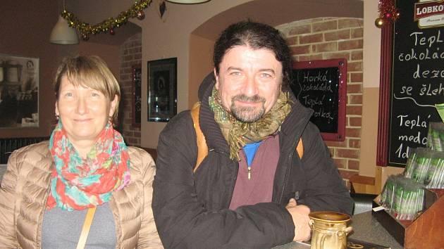 Eva Chudobová a Ivo Chocholáč.