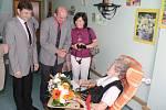 Gratulace stoleté paní Františce Paříkové.