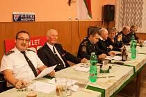 Z výroční schůze SDH Nová Paka.
