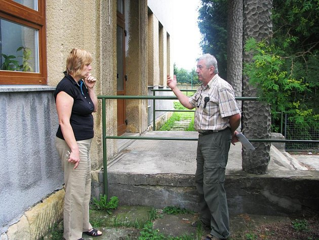 Rekonstrukce v budově radimské mateřské školy.