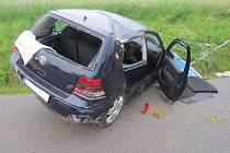 Nehoda golfu u Bělohradu.