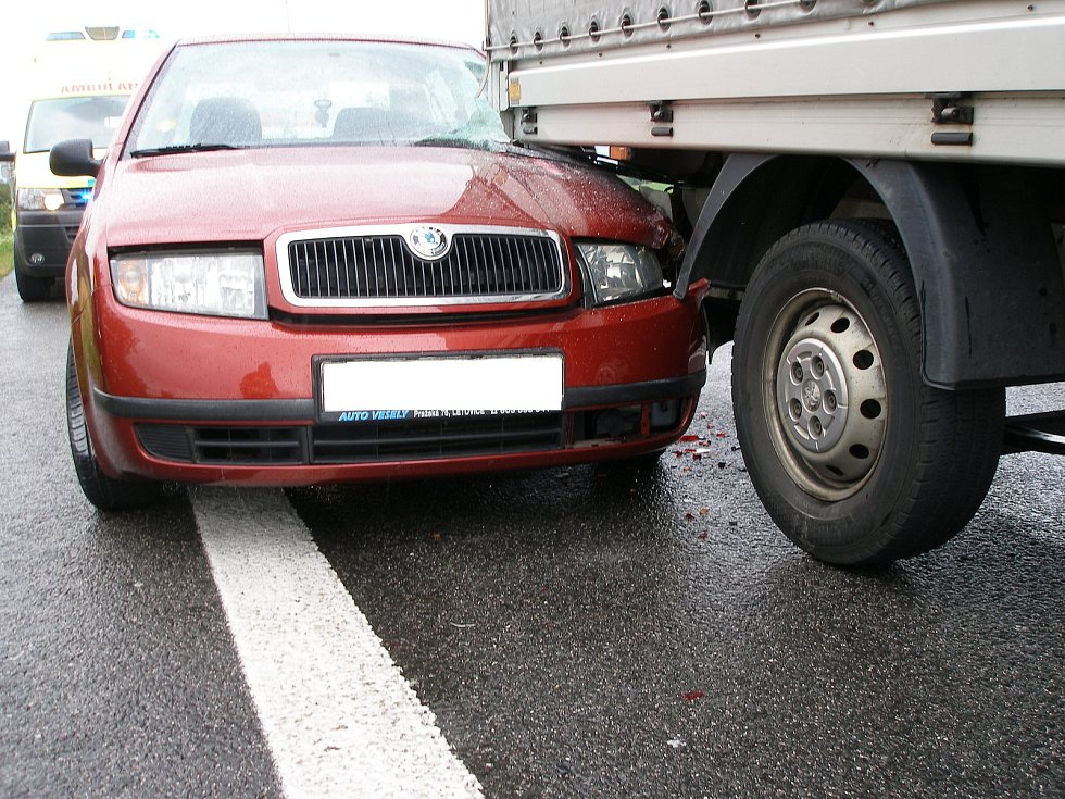 Nehoda u Milovic.
