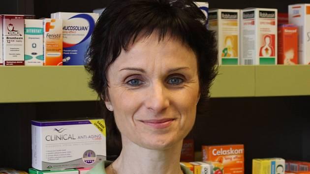 Anna Červená, farmaceutická asistentka.