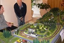 Zajděte se podívat na historický model železnice do Hořic.