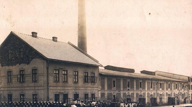 Bývalá cihelna v Popovicích u Jičína.