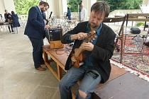 Sobotní koncert na violy da gamba ve Valdštejnské lodžii, spojený s křtem cédéčka Magdy Uhlířové - Fantazie na lidové písně.