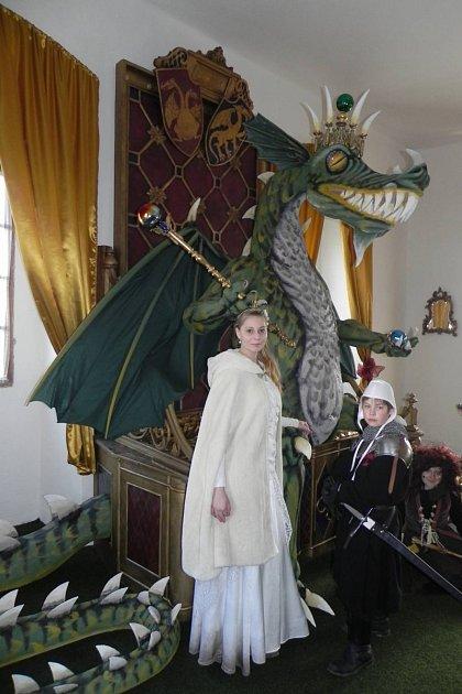 Dračí komnata ve Starých Hradech.