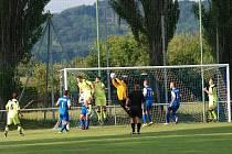 Valdické hřiště je místem mnoha fotbalových zápasů.