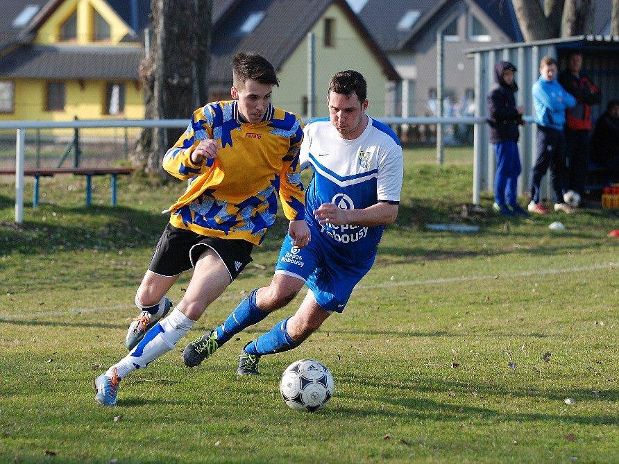 Fotbalové utkání Valdice - Chlumec nad Cidlinou B.