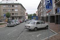Jičínská Tylova ulice.