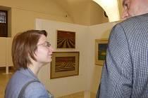 Výstava vgalerii vzámku je otevřena do 3. března.