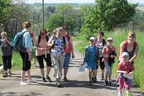 Z ostroměřského pochodu Krajem Eduarda Štorcha.