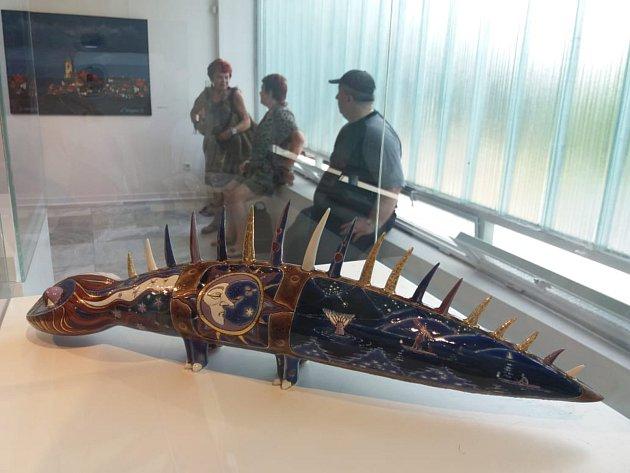 Výstava v hořické Galerii plastik.