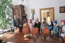 Jičínští školáci ze Čtyřky také slavili masopust.