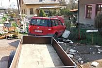 Dopravní nehoda v Libuni.