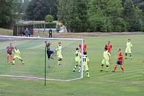 BEZ BRANEK skončilo přípravné utkání mezi domácím Miletínem a rezervou Náchoda.