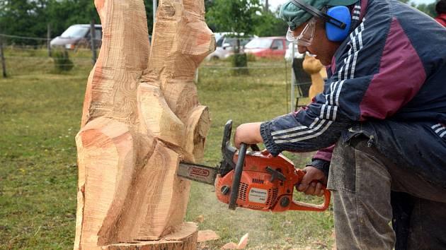 Libunecké dřevosochání.