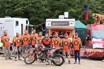 Miletínský MotoTiger Team v Erzbergu.