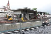 Stavba novopackého terminálu má být hotova na podzim letošního roku.