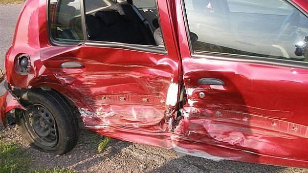 Dopravní nehoda u Vinice.