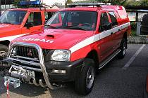 Nové hasičské auto.