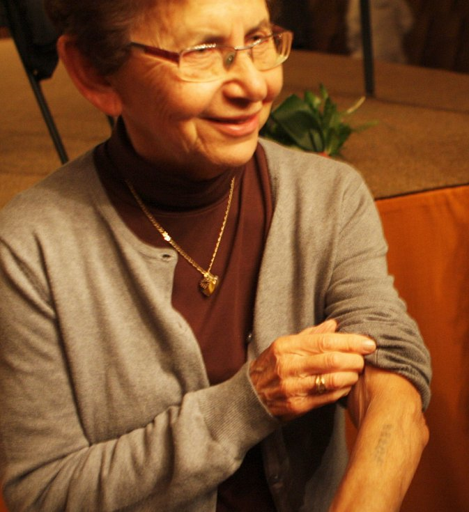Beseda o holocaustu s Dagmar Lieblovou.