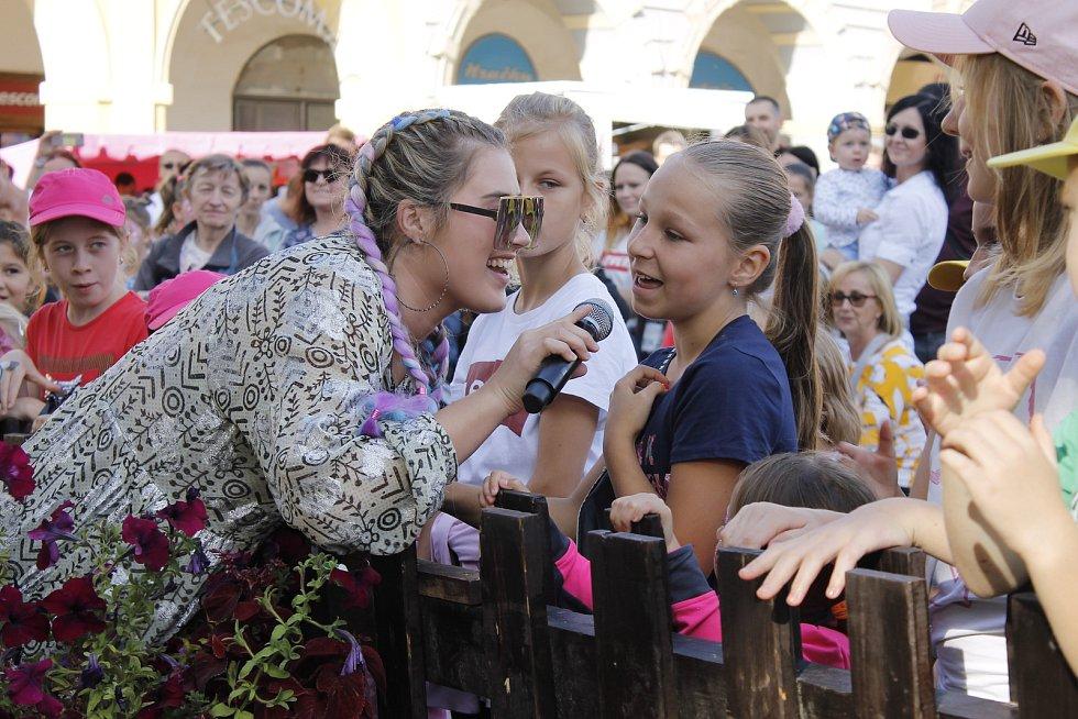 Elis Mrázová potěšila své fanoušky.