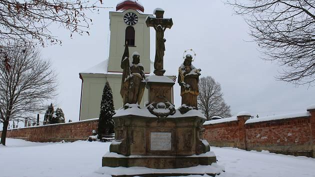 Na návštěvě v Lužanech na Jičínsku