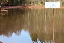 Rybník ve Štěpanicích.