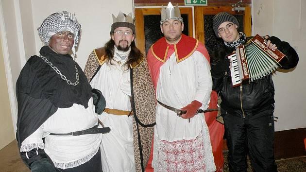 Tři králové chodili také v Čisté u Horek.