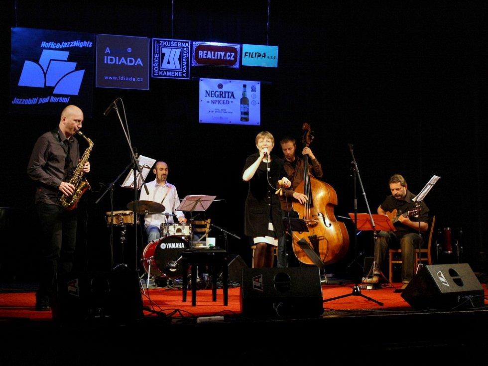 Hořické JazzNights 2013: Vesna Cáceres a Anima.