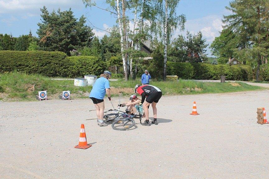 Ve Zborné soutěžili v CykLuku.