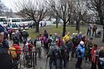 Z bělohradského pochodu Za posledním puchýřem.