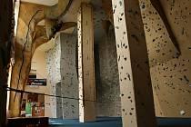 Horolezecká stěna v Sobotce