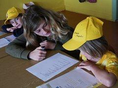 Test v soutěži Zlatá včela.