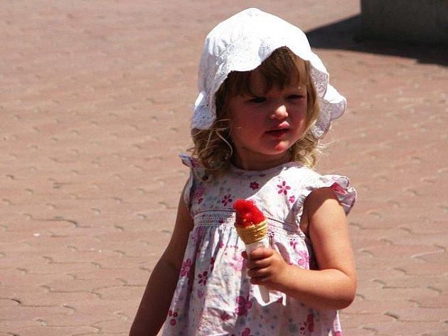 Zmrzlinová nabídka v Jičíně je velká.