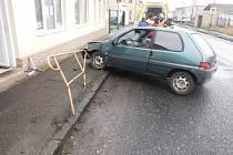 Dopravní nehoda v Hořicích