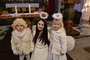 V kostele v Konecchlumí tančili malí andílci
