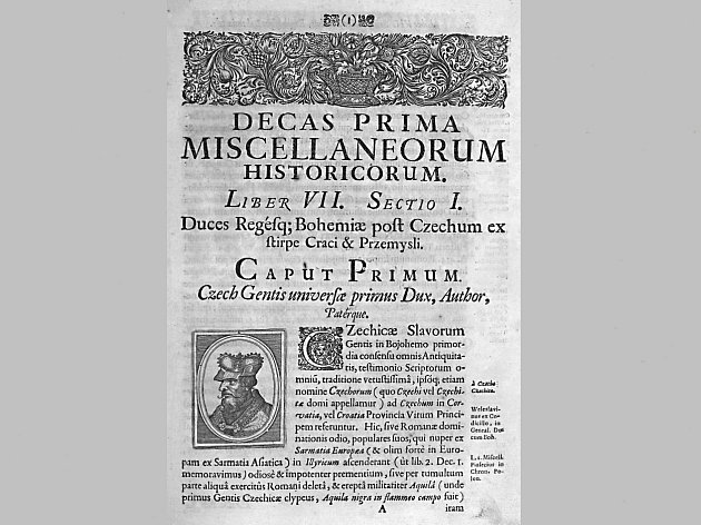 BALBÍN BOHUSLAV: Rozmanitosti z historie Království českého, Kniha VII, 1687