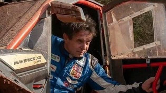 Osobnost Lužan, autokrosový závodník Václav Fejfar.