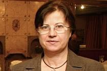 Dagmar Havlová, manželka Ivana Havla.